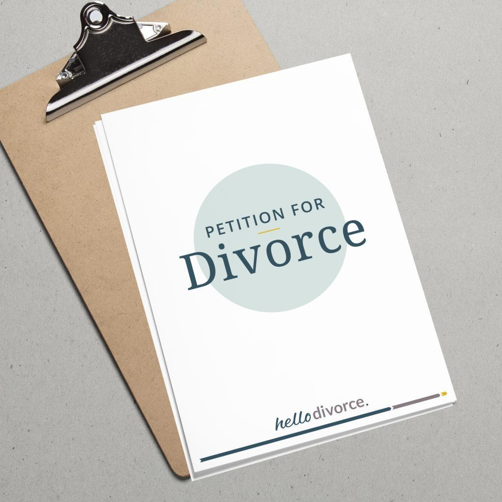Response to divorce petition